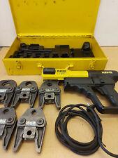 Roller Rems Power-Press ACC Pressmaschine Presszange 5x SA Pressbacken Sanha