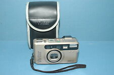 Vivitar 520MZ 35mm Film Super Macro Power Zoom Camera w/ case