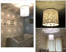 Kids Ceiling Light Shade Pendant Nursary Children Bedroom lampshade Birthday Gif