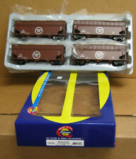 Athearn 76493 HO 4-pack Missouri Pacific 40' Wood Chip Hoppers