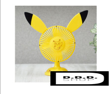 Sega Pokemon Sun & Moon Premium USB Fan Pikachu Version Animé T-Shirt Otaku