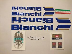 Bianchi full set . Bianchi Tubing Decals Stickers 6 options on your choice