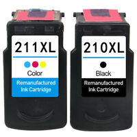 Ink Cartridges for Canon 210 211 XL PIXMA MP495 MP280 iP2702 MP499 MP240 MP250