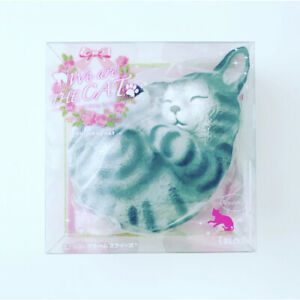 Ibloom Squishy We Are the Cat Curled ASH Grey Gray Kitten Squishy NEW