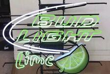 Bud Light Bar Lime Beer Lamp Decor Poster Neon Sign