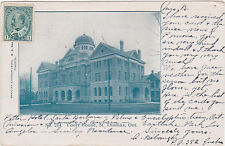 St.Thomas,Ontario,Canada,Court House,Used,1905