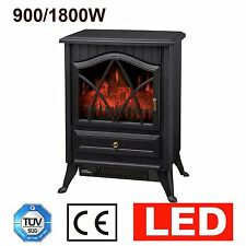 Log Burner Effect Burning Flame Electric Heater Fire Stove Fire Heater Fireplace