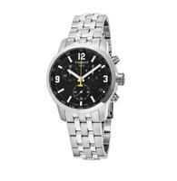 Tissot PRC 200 Black Dial Chronograph T0554171105700 Mens Swiss Made Watch
