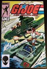 G.I. Joe A Real American Hero #25 1st App Zartan Cutter HUGE KEY 1983 VF/NM