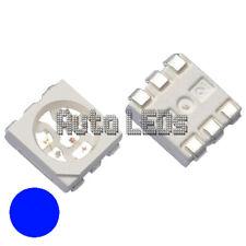 15 x Blue 5050 - PLCC-6 SMD LEDs