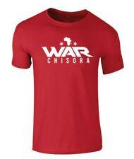 Derek Chisora  Red Boxing T-Shirt War Chisora