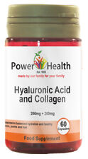 Power Health Hyaluronic Acid 200mg and Collagen 200mg 60 Capsules