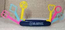 Swiss Army Knife MR. BUBBLES SWISS BUBBLE BLOWER retro vintage classic toy