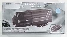 Transformers Classics BTS-01 Optimus Prime Mobile Command Base Trailer Clear Ver