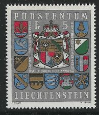 Liechtenstein Scott #533, Single 1973 Complete Set FVF MNH