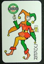 1 x Joker playing card single Brewery Heineken Beer Premium Quality Green ZJ1213