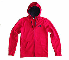 North Face Surgent Half Dome Pullover Red Hoodie Polyester Fleece Medium