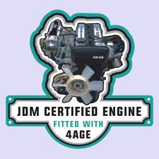 Toyota Sprinter Corolla 4AGE Engine JDM Vinyl Decal Sticker