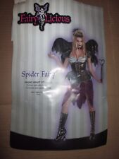 Womens SPIDER FAIRY Halloween Costume sz juniors 7 - 9 by Disguise NEW