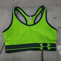 Under Armour Sports Bra Size Small Womens Mid-Impact Support UA Performance New.