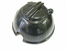 SEAT LEON HEADERTANK/EXPANSION TANK COVER INC NEW CAP IN CARBON FIBRE EFFECT