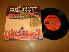 LES HARICOTS ROUGES - EP FRENCH DUCRETET   / LISTEN - JAZZ SKA FRENCH POPCORN
