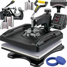 Vevor Heat Press Machine Sublimation Machine 15 X 15 Inch 8 In 1 Heat Press Set