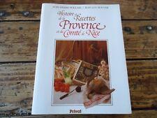 RECETTE DE LA PROVENCE ET DU COMTE DE NICE - POULAIN - 1987 CUISINE GASTRONOMIE