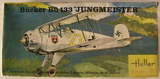 Germany Bucker BU 133 Jungmeister, 1/72 Aurora/Heller kit 6612, airplane model