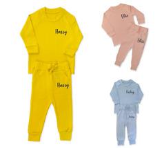 Personalised Name Lounge Set Children's Tracksuit Loungewear Girls Boys Gifts