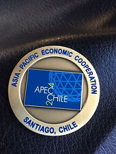 RARE & Authentic WHITE House Communications Agency 2004 APEC Chile Coin -122a