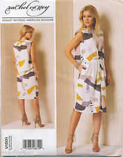VOGUE SEWING PATTERN 1501 MISSES SZ 6-14 RACHEL COMEY LOOSE-FITTING DRESS