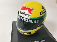 Calcas casco Ayrton Senna escala 1:8