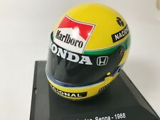 Calcas casco Ayrton Senna escala 1:8