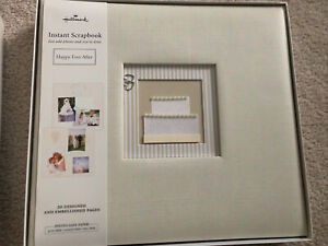 Hallmark Keepsake Wedding Album Scrapbook - New In Box