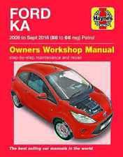 Ford KA Mk2 2009-2014 Haynes Workshop Manual 5637