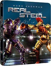 Real Steel (Blu-ray, SteelBook, Hugh Jackman ) RegionFREE