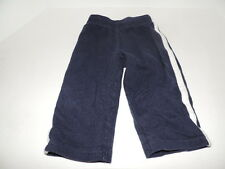 Infant Boy Carter's Pants Navy Blue with whit strip on sides. Size 9 months