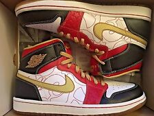 """Nike Air Jordan 1 OG High XQ Ignite """"Shanghai"""" 555088-040 Men Size US 9 NEW"""