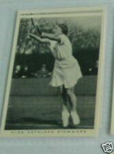 #41 Miss Kathleen tartamudea Tenis Deporte Tarjeta De Cigarrillo