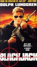 Blackjack (VHS) Dolph Lundgren actioner directed by John Woo