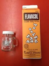 Flavacol Seasoning Popcorn Pop Corn Salt Ingredient Yellow Color Apeal w/ Shaker