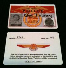 Joe Friday 50's DRAGNET Credentials Card #714 Prop Replica
