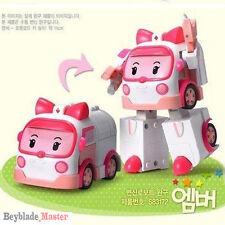 "ROBOCAR POLI ""AMBER"" Transforming robot Transformable transformer TOY NEW"