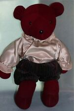 North American Bear Co. Red Shakesbear VIB Teddy Bear 1979