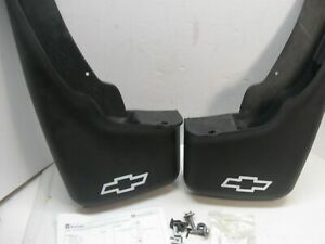 For Chevy Silverado Sierra 1999-07 Mud Flap Splash Protect Guards Pair- Front