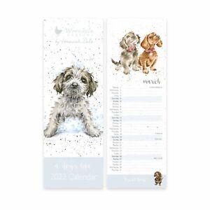 Wrendale Designs A Dog's Life Slim 2022 Calendar - Pet Themed Gift Ideas