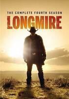 Longmire: The Complete Fourth Season (DVD, 2016, 2-Disc Set)-Brand New-Sealed