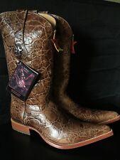 Boot mens Size 8 new xxx toe cognac color kenia;Bota Nueva Bonita Piel