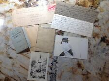WWII Army EBSR Engineer Boat Shore Regiment group censored Japanese letter photo